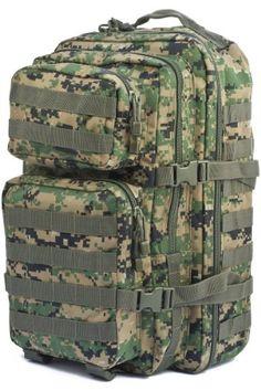 Mil-Tec Military Army Patrol Molle Assault Pack Tactical Combat Rucksack Backpack Bag 36L MARPAT Digital Woodland Camo - http://emergencysurvival.supply/?product=mil-tec-military-army-patrol-molle-assault-pack-tactical-combat-rucksack-backpack-bag-36l-marpat-digital-woodland-camo  Visit http://emergencysurvival.supply (Are You Ready?) Find Out More