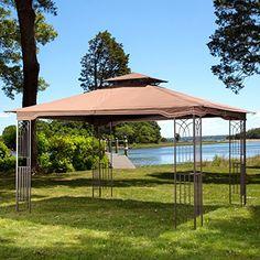 10 x 12 Regency II Patio Gazebo with Mosquito Netting sunjoy $247