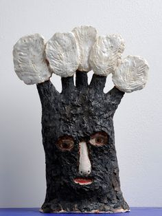 """Title unknown from the """"Making Memories"""" series (2013) by British artist Claire Loder. Ceramic. via the artist's blog"""