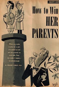 How to Win Her Parents: Advice from 1948