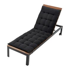 h ll coussin chaise longue noir pinterest bain de. Black Bedroom Furniture Sets. Home Design Ideas