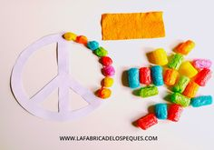 Peace Crafts, Hippy Style, Potato, Crafts For Kids, Symbols, Education, Retro, Diy, Ideas