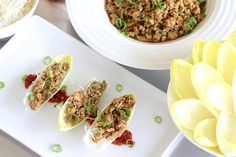 The next time you're craving P.F. Chang's chicken lettuce wraps, skip the restaurant run and whip up this crowd-pleasing recipe instead! Served in endive boats in lieu of iceberg lettuce leaves, you get a nice nutrient boost as well as an elegant, bite-size presentation. Whether you choose to enjoy them as an appetizer or main …