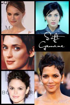 Kibbe Soft Gamine•Natalie Portman• Natalie Imbruglia• Winona Ryder• Rachel Bilson• Halle Berry