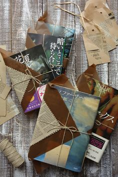 wrapping idea for books