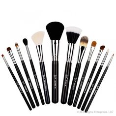 Sigma Beauty Essential Kit  The Sigma Beauty Essential Kit contains twelve professional quality brushes for the face and eyes. This kit features all of the brushes needed to create a complete look at any level of artistry.