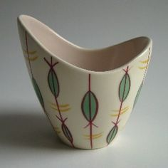 free form Poole pottery - just fabulous