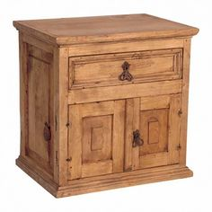 Mexican Pine Nightstand