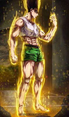 Gon Transformation - Hunter x Hunter by on DeviantArt Hunter Anime, Hunter X Hunter, Live Wallpapers, Animes Wallpapers, Gon Transformation, Anime One, Manga Anime, Hunter Tattoo, Hanya Tattoo