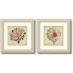 ''Pop Floral'' 2-piece Framed Wall Art Set ($374) ❤ liked on Polyvore featuring home, home decor, wall art, white, framed floral wall art, floral wall art, floral home decor, white home decor and vertical wall art