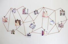 Mural de fotos: uma lista com 30 ideias para decorar a sua casa