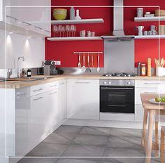 Ajoutez du pep's dans votre cuisine et craquez pour du rouge avec notre peinture multi-supports couleur Coccinelle !