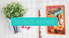 DIY: WANDREK DECORATIE