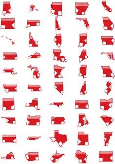 A shirt for every state in Red Sox Nation