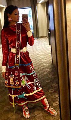 hot native Ashley callingbull at DuckDuckGo Native American Models, Native American Clothing, Native American Regalia, Native American Beauty, American Indians, Native American Cherokee, Native American Beadwork, Jingle Dress, Native Girls