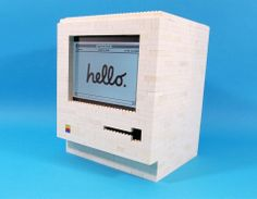 It's a perfect companion for those who love iPad and LEGO bricks. If you're curious, let's go on checking the LEGO Apple Macintosh iPad stand. Apple Tv, Apple Watch, Ipad Holder, Lego Blocks, Ipad Stand, Retro Gifts, Technology Gadgets, Medical Technology, Energy Technology