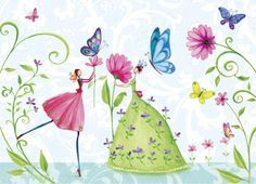 Mila Marquis fairies and butterflies