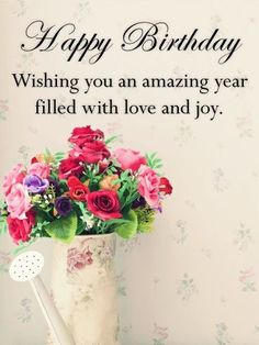 Send Free Vintage Flower Bouquet Happy Birthday Card to Loved Ones on Birthday & Greeting Cards by Davia. It's free, and you also can use your own customized birthday calendar and birthday reminders.