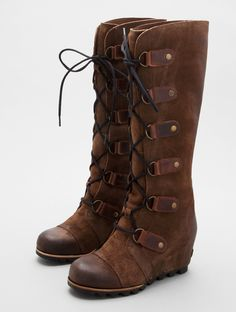Joan of Arctic Wedge by Sorel - BOOTS - tall - Lori's Designer Shoes, The Sole of Chicago