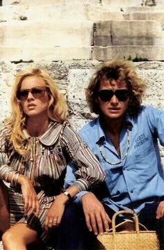 Sylvie et Johnny Hallyday