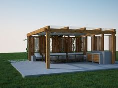 Pergola, Outdoor Structures, Garden, Garten, Lawn And Garden, Outdoor, Arbors, Tuin, Gardens
