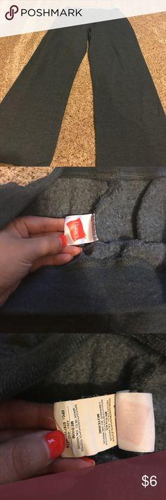 Medium grey Hanes sweats Medium grey Hanes sweats Hanes Pants