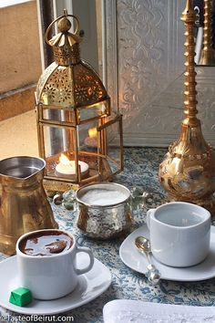 Middle Eastern Coffee White or Black