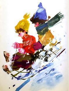 "Janusz Grabianski from ""The Big Book To Grow On."" 1959"