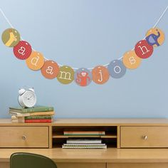Your Sentiments Exactly Garland Kit  | The Land of Nod