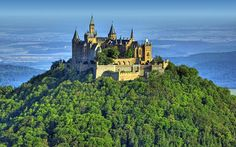 Hohenzollern Castle, Germany #europe #travel #places