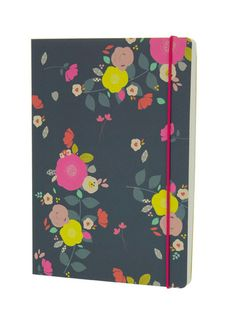Camden Floral A5 notebook - Susan Driscoll for Go Stationery