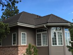 Gerard stone coated metal roof made to look like tile. Installed by @Hornbrothers