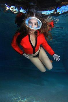 Diving Suit, Scuba Diving, Scuba Girl, Snorkeling, Underwater, Wetsuit, Surfing, Poses, Adventure