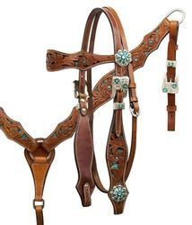 SNAKE INLAY HEADSTALL AND BREAST COLLAR SET