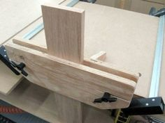 Shop Made Bench Vise