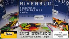 RiverBug tube fly products delivered to a new fishing store along other products :) #riverbug #fly #flyfishing #tubefly #fishing #fish #salmon #salmonfly #putkiperho #perho #fluga #rivertube #shop #silicone #silicones #silikoniletku #kalastus #rialinna #kuopio #kalastuskauppa #kalastusväline #kalakauppa #fishingstore #fishingshop #riverbugfinland #PPKTUNKKI #tunkki #heavybody #infernofox #Xlong #finland www.riverbug.fi
