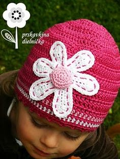 Crochet~ Flower Applique - Free Pattern