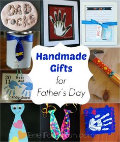 Handmade Father's Day Gifts via Pinterest