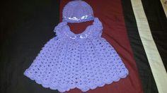 Cutie crochet hat and dress