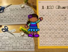 CUT AND PASTE WAYS TO MAKE NUMBERS MIX & MATCH 1-30...1-120 CHARTS FIRST GRADE - TeachersPayTeachers.com