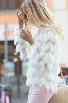 I think I need a white fur. like, now. k thanks santa