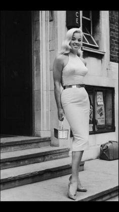 Diana Dors was the British Marilyn Monroe