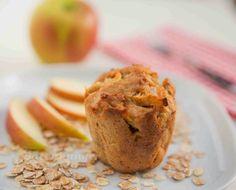 Bärenhunger: Apfel Müsli Muffins
