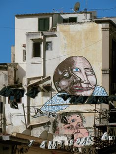 Art is hope. Palermo street art Ballarò