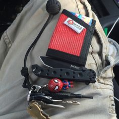 The Sergeant Slim Wallet – RecycledFirefighter