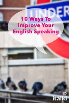 10 Ways To Improve Your English Speaking - Going abroad isn't always a realistic option for becoming fluent in a language, so here are some tips to improve your English speaking, and increase your fluency at home. #article #english