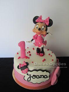 Doces Opções: A Minnie no 1º aniversário da Joana