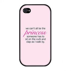 Princess Plastic phone case