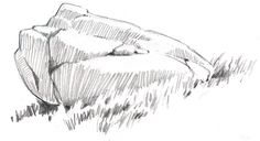 Pencil Drawing Tutorials boulder pencil 4 - Ever had trouble drawing rocks and boulders? With a few focused tips, you can start to carve the planes and give shape to the rocks you draw. Drawing Techniques, Drawing Tips, Drawing Sketches, Painting & Drawing, Drawing Ideas, Realistic Drawings, Cool Drawings, Pencil Drawings, Skull Drawings
