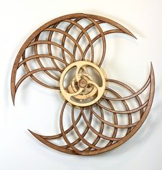 Kinetic Sculpture by David C. Roy - All Sculptures | Wood That Works | Kinetic Art - Monarch II